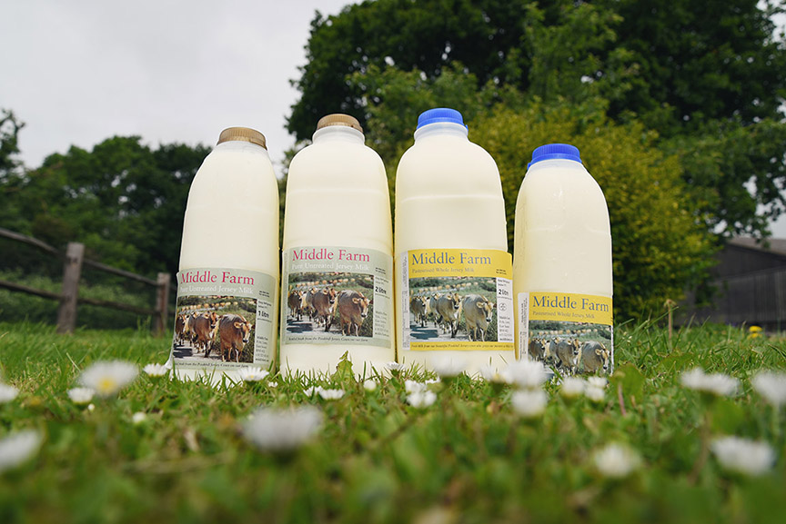 Middle Farm | Milk at the Farm Shop