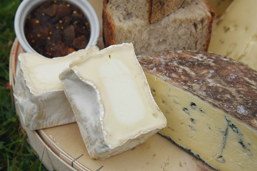 Middle Farm | Cheese at the Farm Shop